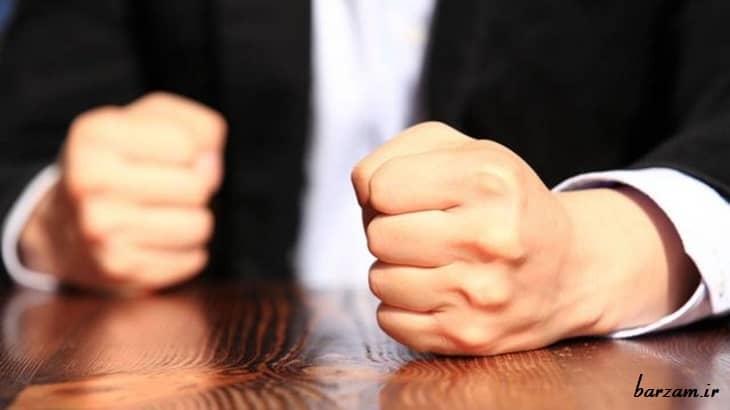 عوامل درونی و بیرونی در کنترل خشم